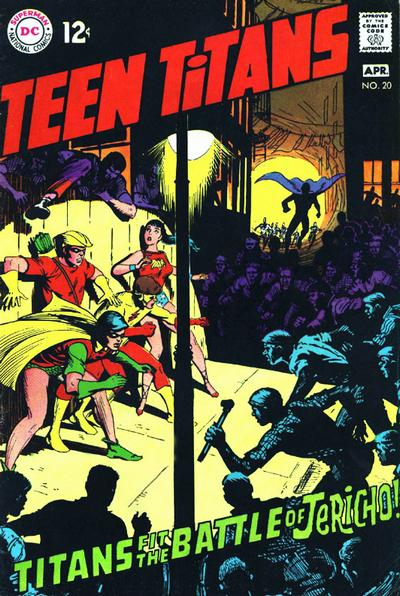 Cover for Teen Titans (DC, 1966 series) #20