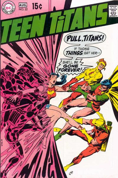 Cover for Teen Titans (DC, 1966 series) #22