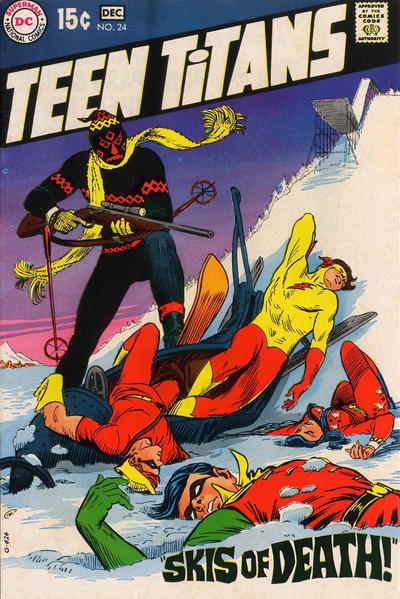 Cover for Teen Titans (DC, 1966 series) #24