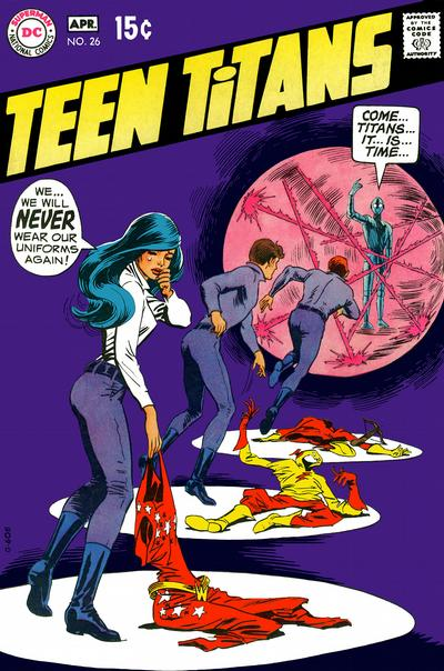 Cover for Teen Titans (DC, 1966 series) #26