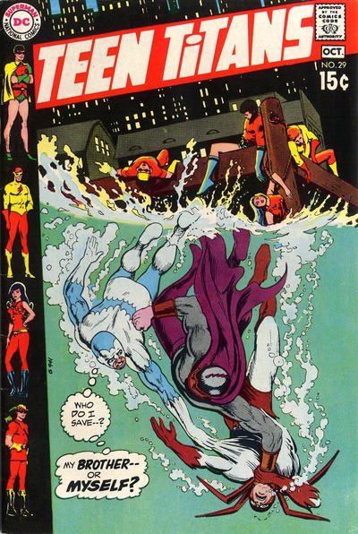 Cover for Teen Titans (DC, 1966 series) #29