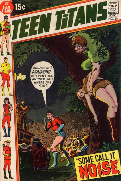 Cover for Teen Titans (DC, 1966 series) #30