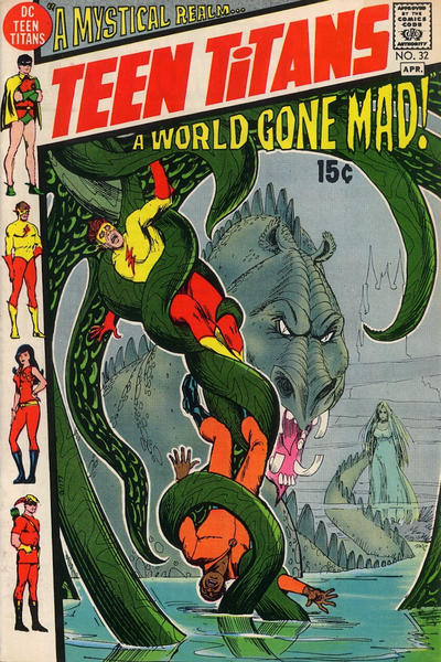 Cover for Teen Titans (DC, 1966 series) #32