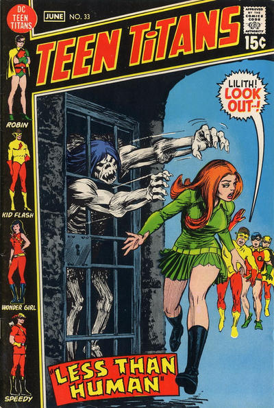 Cover for Teen Titans (DC, 1966 series) #33