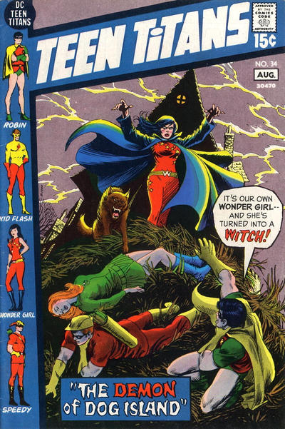 Cover for Teen Titans (DC, 1966 series) #34