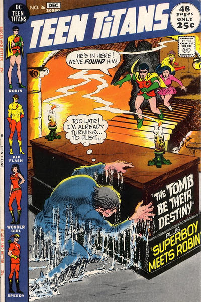 Cover for Teen Titans (DC, 1966 series) #36