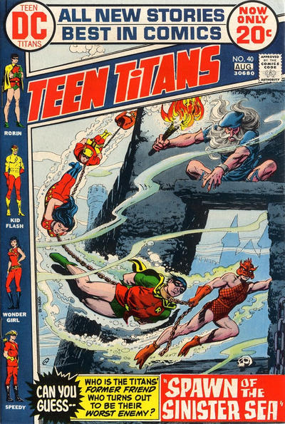 Cover for Teen Titans (DC, 1966 series) #40