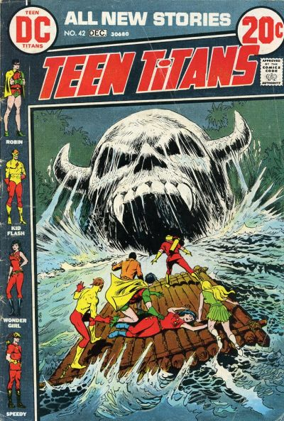 Cover for Teen Titans (DC, 1966 series) #42