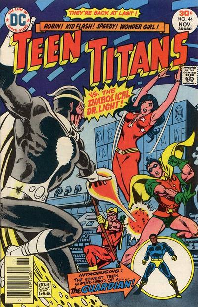 Cover for Teen Titans (DC, 1966 series) #44