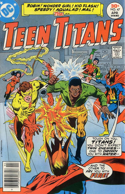 Cover for Teen Titans (DC, 1966 series) #47