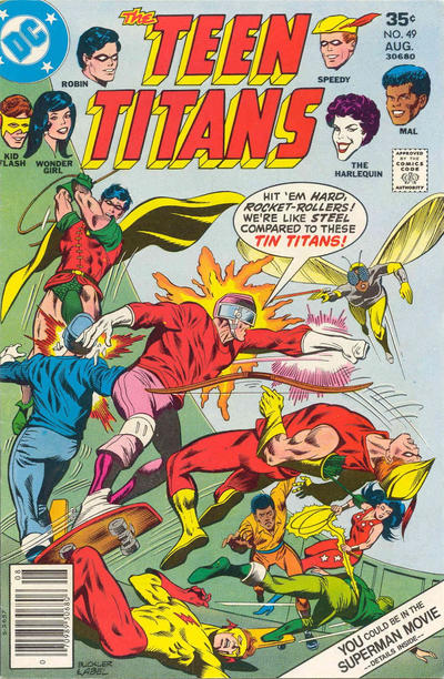 Cover for Teen Titans (DC, 1966 series) #49