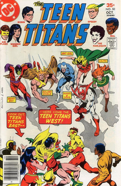 Cover for Teen Titans (DC, 1966 series) #50