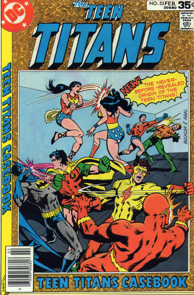 Cover for Teen Titans (DC, 1966 series) #53