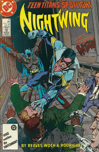 Cover for Teen Titans Spotlight (DC, 1986 series) #14 [Direct Sales]