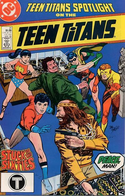 Cover for Teen Titans Spotlight (DC, 1986 series) #21