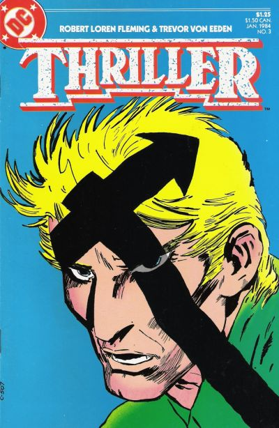 Cover for Thriller (DC, 1983 series) #3