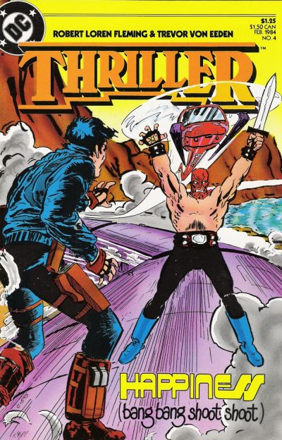 Cover for Thriller (DC, 1983 series) #4