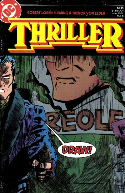 Cover for Thriller (DC, 1983 series) #6