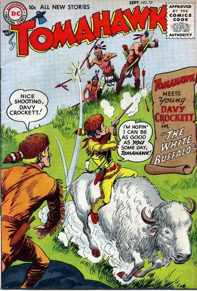 Cover for Tomahawk (DC, 1950 series) #35