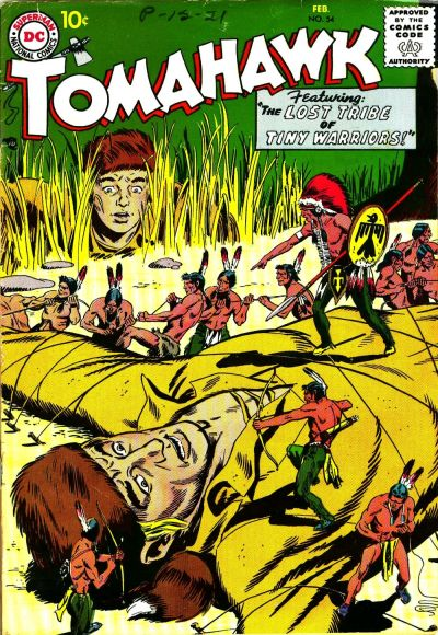 Cover for Tomahawk (DC, 1950 series) #54