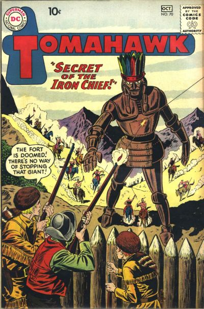 Cover for Tomahawk (DC, 1950 series) #70