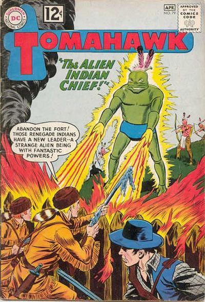 Cover for Tomahawk (DC, 1950 series) #79