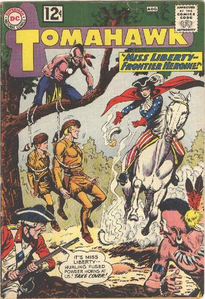 Cover for Tomahawk (DC, 1950 series) #81
