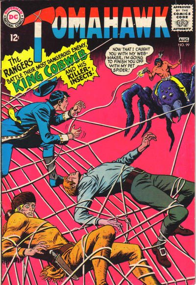 Cover for Tomahawk (DC, 1950 series) #99