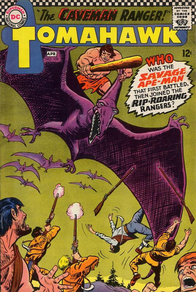 Cover for Tomahawk (DC, 1950 series) #109