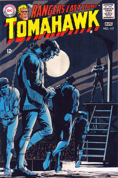 Cover for Tomahawk (DC, 1950 series) #117