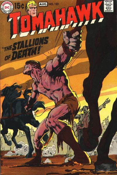 Cover for Tomahawk (DC, 1950 series) #123
