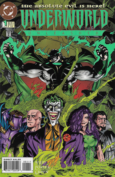 Cover for Underworld Unleashed (DC, 1995 series) #1