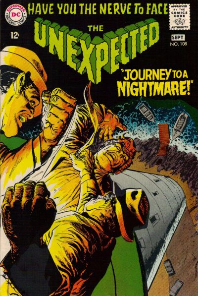 Cover for The Unexpected (DC, 1968 series) #108