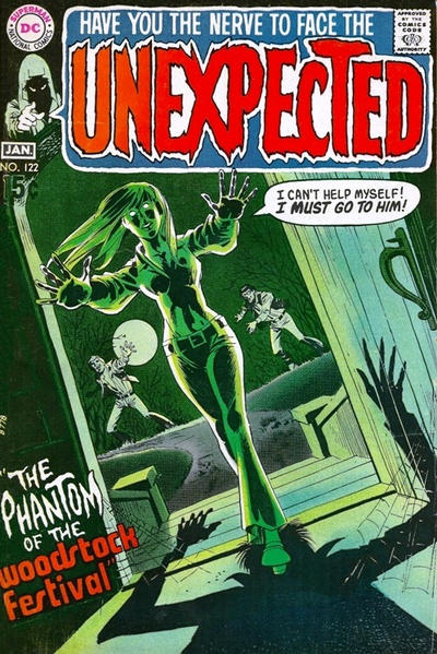 Cover for The Unexpected (DC, 1968 series) #122