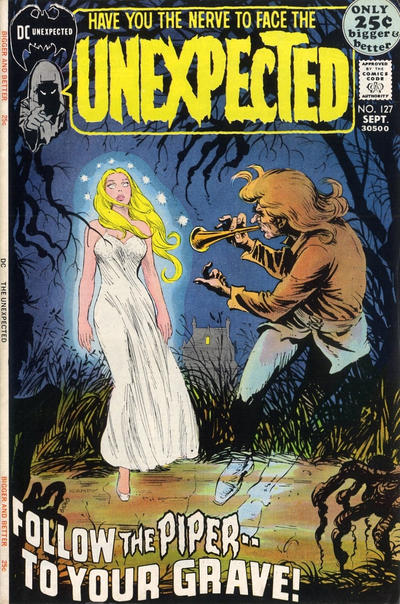 Cover for The Unexpected (DC, 1968 series) #127