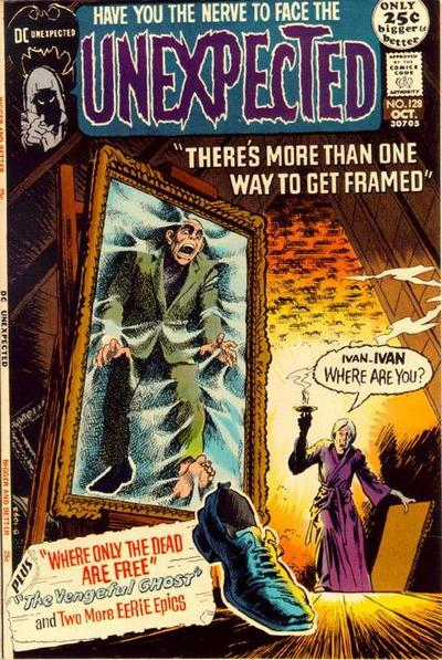 Cover for The Unexpected (DC, 1968 series) #128