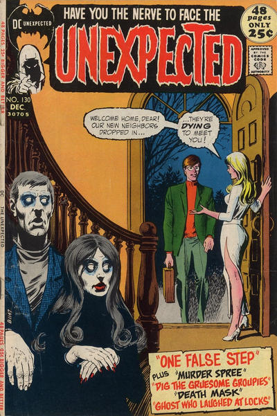Cover for The Unexpected (DC, 1968 series) #130