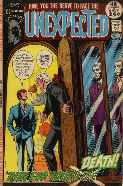 Cover for The Unexpected (DC, 1968 series) #131