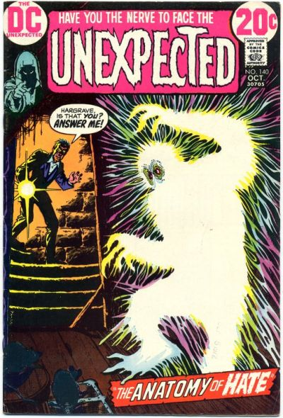 Cover for The Unexpected (DC, 1968 series) #140