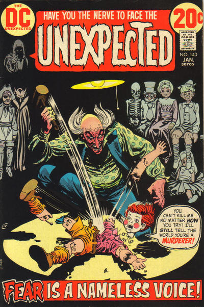 Cover for The Unexpected (DC, 1968 series) #143