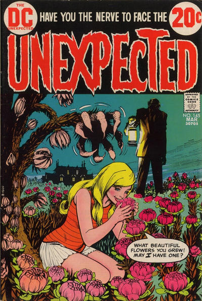 Cover for The Unexpected (DC, 1968 series) #145