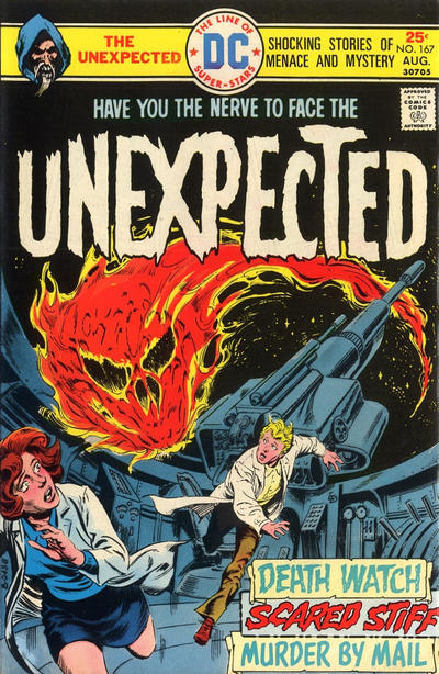 Cover for The Unexpected (DC, 1968 series) #167