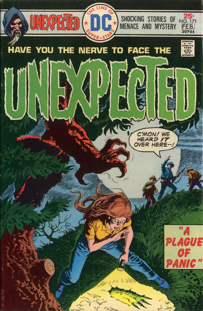 Cover for The Unexpected (DC, 1968 series) #171
