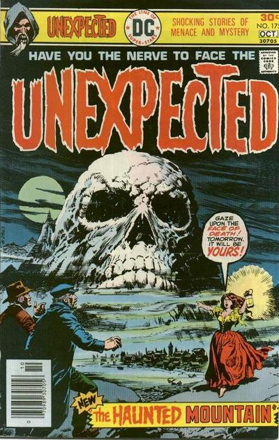 Cover for The Unexpected (DC, 1968 series) #175