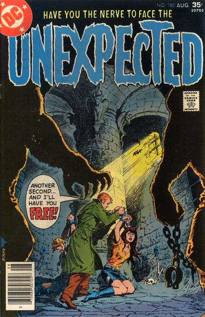 Cover for The Unexpected (DC, 1968 series) #180