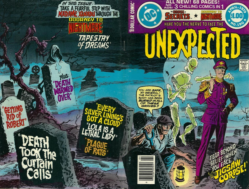 Cover for The Unexpected (DC, 1968 series) #190