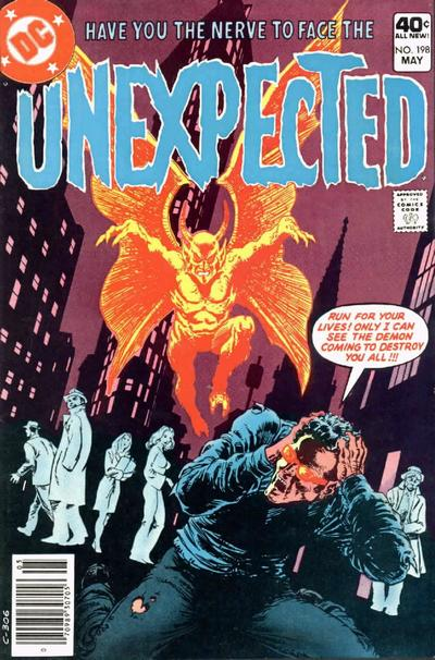Cover for The Unexpected (DC, 1968 series) #198