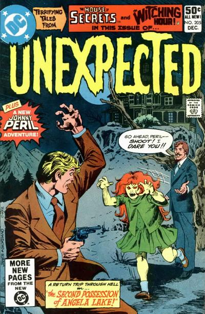 Cover for The Unexpected (DC, 1968 series) #205 [Newsstand]