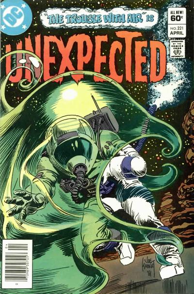Cover for The Unexpected (DC, 1968 series) #221 [Direct]