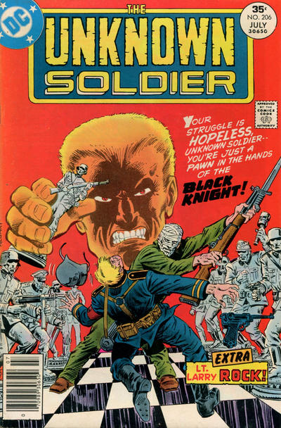 Cover for Unknown Soldier (DC, 1977 series) #206